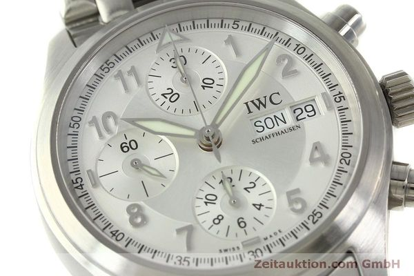 Used luxury watch IWC Fliegerchronograph chronograph steel automatic Kal. 7922 Ref. 3706  | 151525 02