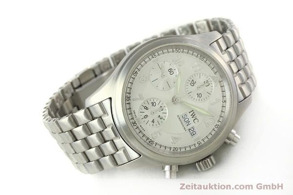 Used luxury watch IWC Fliegerchronograph chronograph steel automatic Kal. 7922 Ref. 3706  | 151525 03