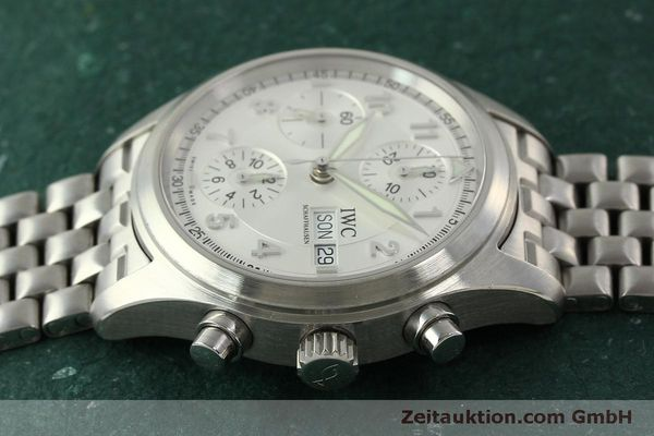 Used luxury watch IWC Fliegerchronograph chronograph steel automatic Kal. 7922 Ref. 3706  | 151525 05