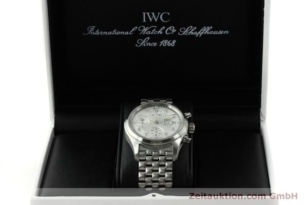 Used luxury watch IWC Fliegerchronograph chronograph steel automatic Kal. 7922 Ref. 3706  | 151525 07