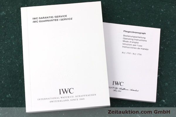 Used luxury watch IWC Fliegerchronograph chronograph steel automatic Kal. 7922 Ref. 3706  | 151525 15