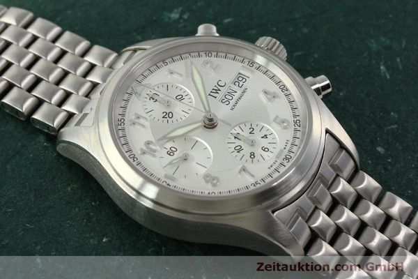 Used luxury watch IWC Fliegerchronograph chronograph steel automatic Kal. 7922 Ref. 3706  | 151525 18