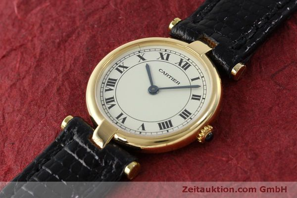 Used luxury watch Cartier * 18 ct gold quartz Kal. 81  | 151526 01