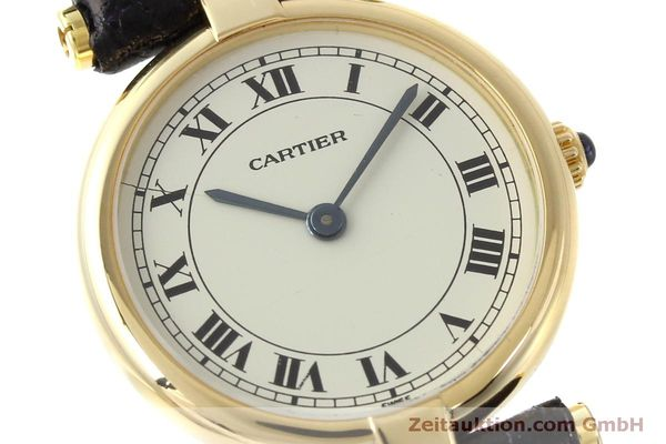 Used luxury watch Cartier * 18 ct gold quartz Kal. 81  | 151526 02