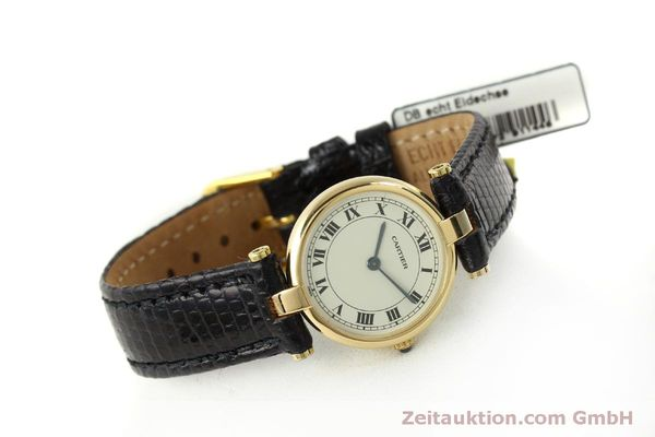 Used luxury watch Cartier * 18 ct gold quartz Kal. 81  | 151526 03