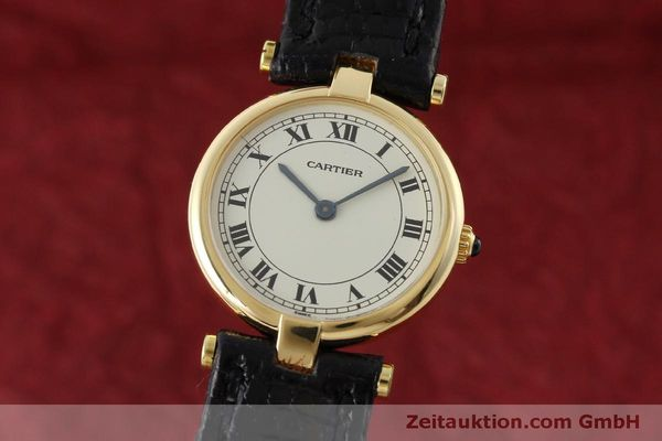 Used luxury watch Cartier * 18 ct gold quartz Kal. 81  | 151526 04