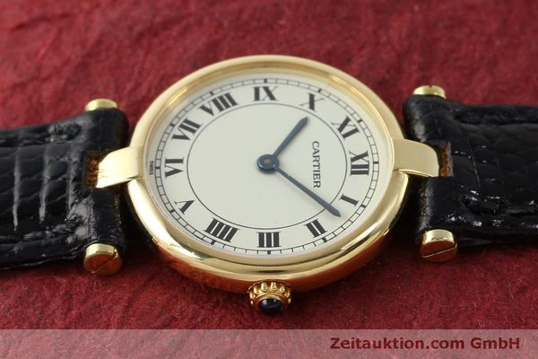 Used luxury watch Cartier * 18 ct gold quartz Kal. 81  | 151526 05