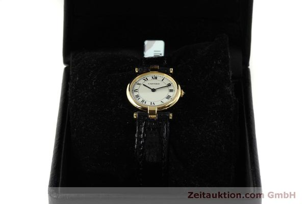 Used luxury watch Cartier * 18 ct gold quartz Kal. 81  | 151526 07
