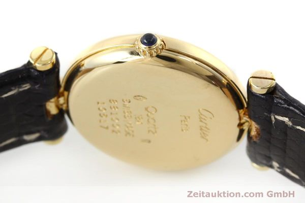 Used luxury watch Cartier * 18 ct gold quartz Kal. 81  | 151526 08