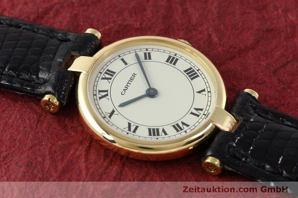 Used luxury watch Cartier * 18 ct gold quartz Kal. 81  | 151526 11