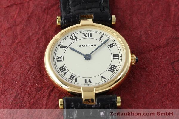 Used luxury watch Cartier * 18 ct gold quartz Kal. 81  | 151526 12