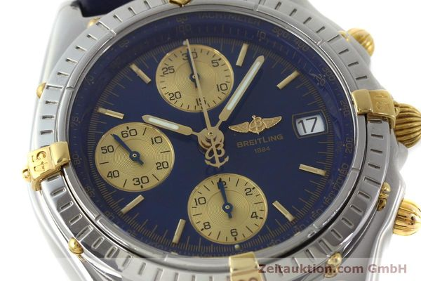 Used luxury watch Breitling Chronomat chronograph steel / gold automatic Kal. B13 ETA 7750 Ref. B13050.1  | 151527 02