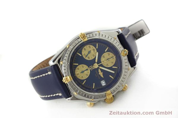 Used luxury watch Breitling Chronomat chronograph steel / gold automatic Kal. B13 ETA 7750 Ref. B13050.1  | 151527 03