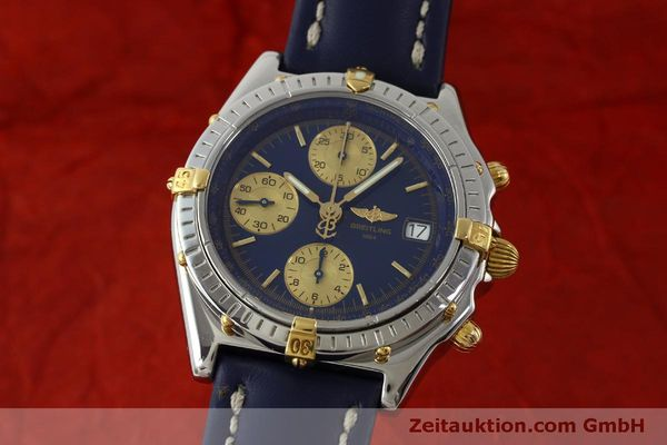 Used luxury watch Breitling Chronomat chronograph steel / gold automatic Kal. B13 ETA 7750 Ref. B13050.1  | 151527 04