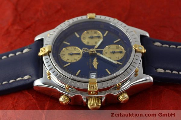 Used luxury watch Breitling Chronomat chronograph steel / gold automatic Kal. B13 ETA 7750 Ref. B13050.1  | 151527 05