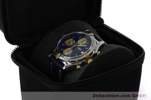 Used luxury watch Breitling Chronomat chronograph steel / gold automatic Kal. B13 ETA 7750 Ref. B13050.1  | 151527 07