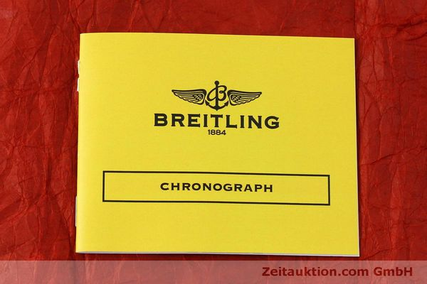 Used luxury watch Breitling Chronomat chronograph steel / gold automatic Kal. B13 ETA 7750 Ref. B13050.1  | 151527 12