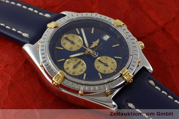 Used luxury watch Breitling Chronomat chronograph steel / gold automatic Kal. B13 ETA 7750 Ref. B13050.1  | 151527 15