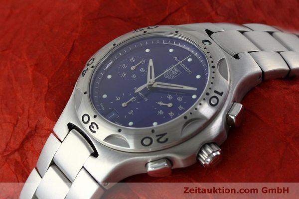 Used luxury watch Tag Heuer Kirium chronograph steel automatic Kal. ETA 2894-2 Ref. CL2111  | 151534 01