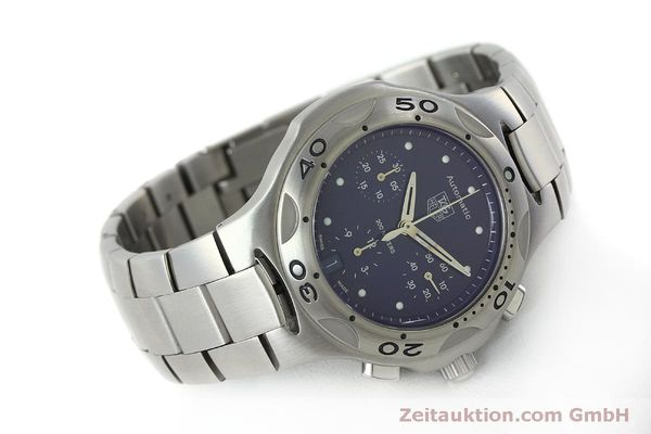 Used luxury watch Tag Heuer Kirium chronograph steel automatic Kal. ETA 2894-2 Ref. CL2111  | 151534 03