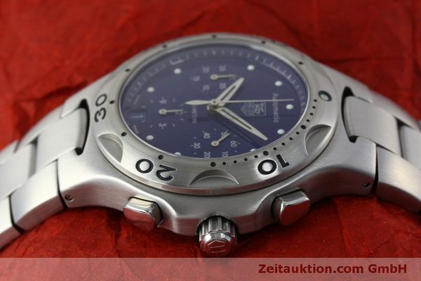 Used luxury watch Tag Heuer Kirium chronograph steel automatic Kal. ETA 2894-2 Ref. CL2111  | 151534 05