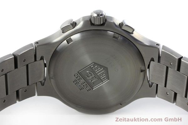 Used luxury watch Tag Heuer Kirium chronograph steel automatic Kal. ETA 2894-2 Ref. CL2111  | 151534 09