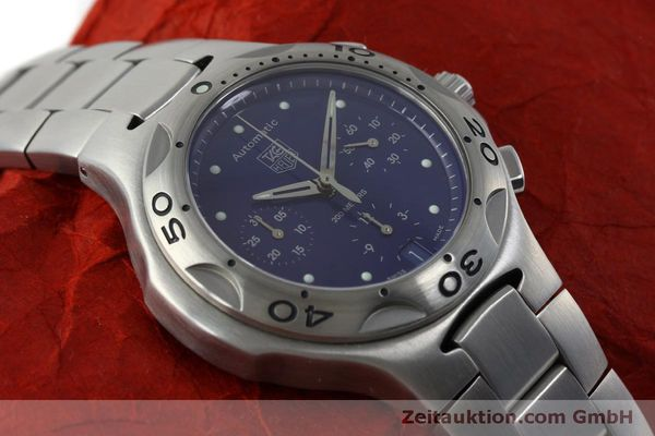 Used luxury watch Tag Heuer Kirium chronograph steel automatic Kal. ETA 2894-2 Ref. CL2111  | 151534 16