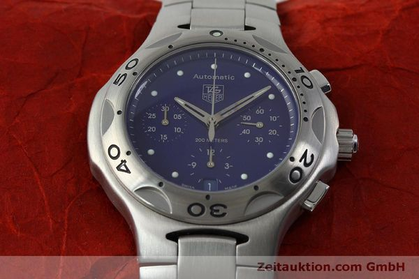 Used luxury watch Tag Heuer Kirium chronograph steel automatic Kal. ETA 2894-2 Ref. CL2111  | 151534 17