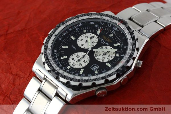 Used luxury watch Breitling Jupiterpilot chronograph steel quartz Kal. B 233 Ref. A59028  | 151536 01