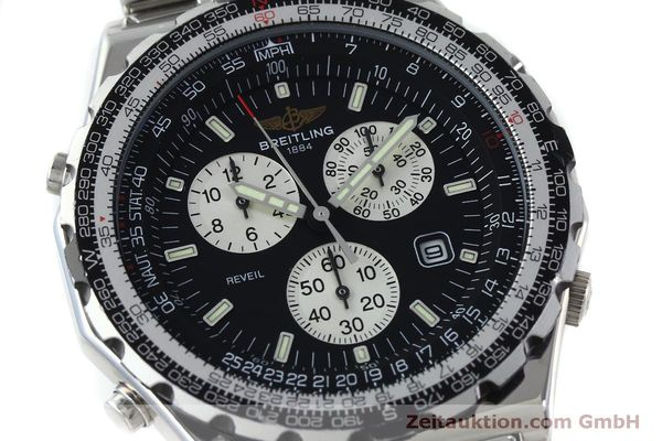 Used luxury watch Breitling Jupiterpilot chronograph steel quartz Kal. B 233 Ref. A59028  | 151536 02