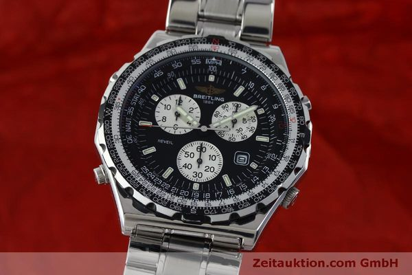 Used luxury watch Breitling Jupiterpilot chronograph steel quartz Kal. B 233 Ref. A59028  | 151536 04