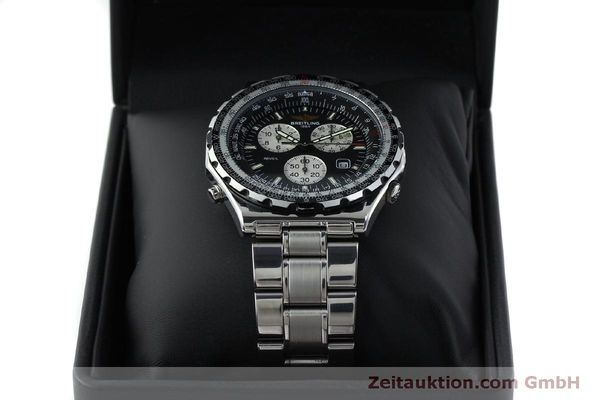 Used luxury watch Breitling Jupiterpilot chronograph steel quartz Kal. B 233 Ref. A59028  | 151536 07