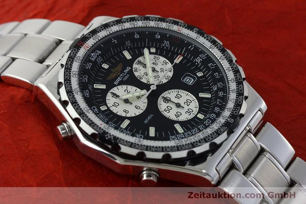 Used luxury watch Breitling Jupiterpilot chronograph steel quartz Kal. B 233 Ref. A59028  | 151536 14