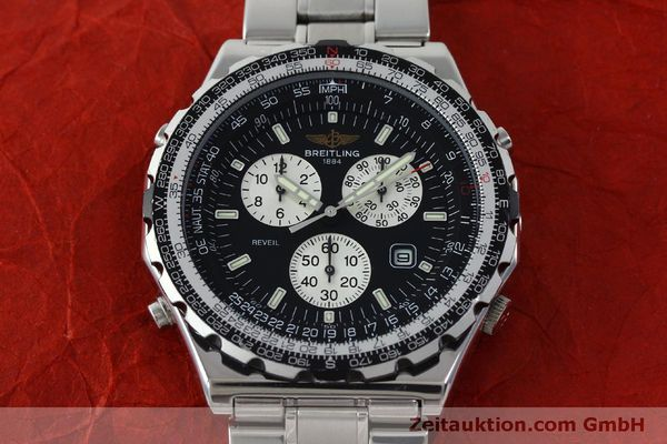 Used luxury watch Breitling Jupiterpilot chronograph steel quartz Kal. B 233 Ref. A59028  | 151536 15