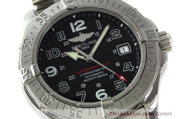 Used luxury watch Breitling Superocean steel automatic Kal. B17 ETA 2824-2 Ref. A17360  | 151540 02