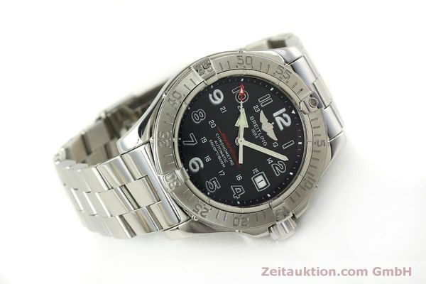 Used luxury watch Breitling Superocean steel automatic Kal. B17 ETA 2824-2 Ref. A17360  | 151540 03