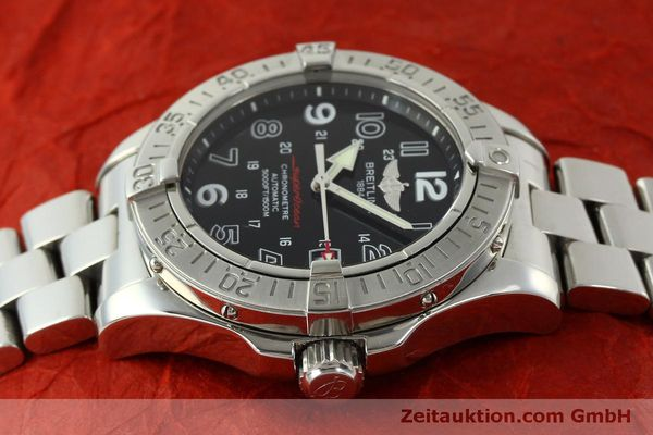 Used luxury watch Breitling Superocean steel automatic Kal. B17 ETA 2824-2 Ref. A17360  | 151540 05
