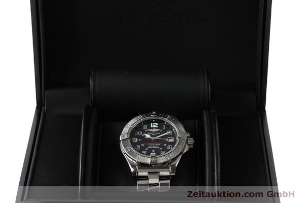 Used luxury watch Breitling Superocean steel automatic Kal. B17 ETA 2824-2 Ref. A17360  | 151540 07