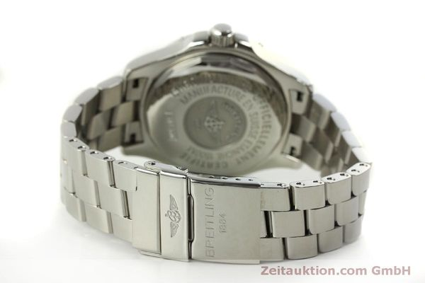 Used luxury watch Breitling Superocean steel automatic Kal. B17 ETA 2824-2 Ref. A17360  | 151540 12