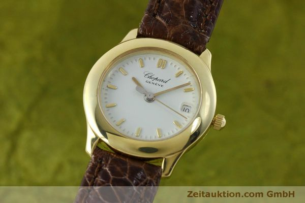 Used luxury watch Chopard * 18 ct gold quartz Kal. 611  | 151541 04