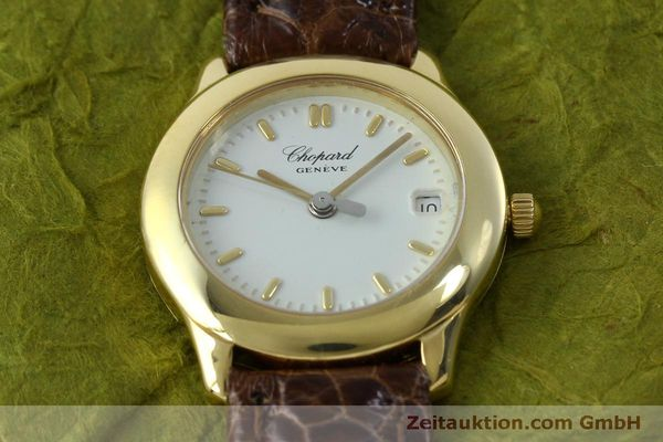 Used luxury watch Chopard * 18 ct gold quartz Kal. 611  | 151541 13