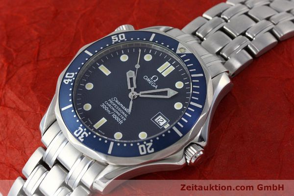 Used luxury watch Omega Seamaster steel automatic Kal. 1120  | 151543 01