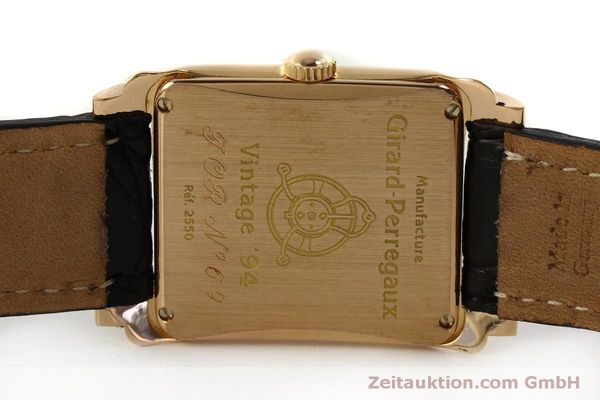 Used luxury watch Girard Perregaux Vintage 18 ct red gold manual winding Kal. 2300-469 Ref. 2550 VINTAGE  | 151547 09