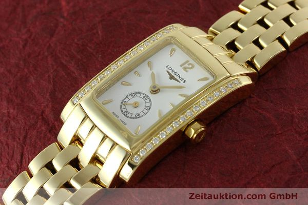 Used luxury watch Longines Dolce Vita 18 ct gold quartz Kal. L.178.2 ETA 980.153 Ref. L5.155.7  | 151548 01
