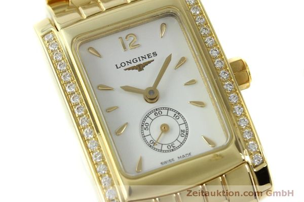 Used luxury watch Longines Dolce Vita 18 ct gold quartz Kal. L.178.2 ETA 980.153 Ref. L5.155.7  | 151548 02