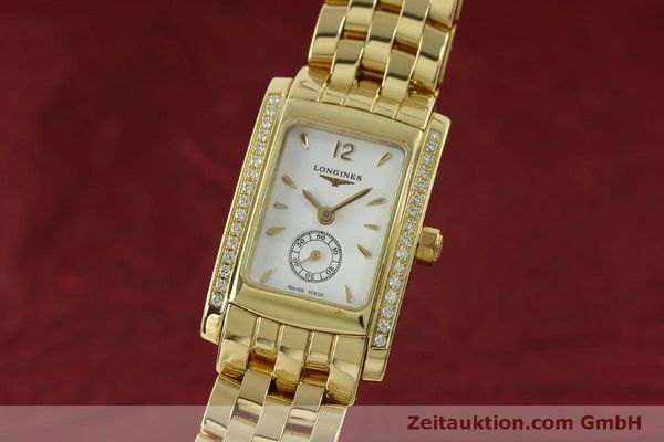 Used luxury watch Longines Dolce Vita 18 ct gold quartz Kal. L.178.2 ETA 980.153 Ref. L5.155.7  | 151548 04
