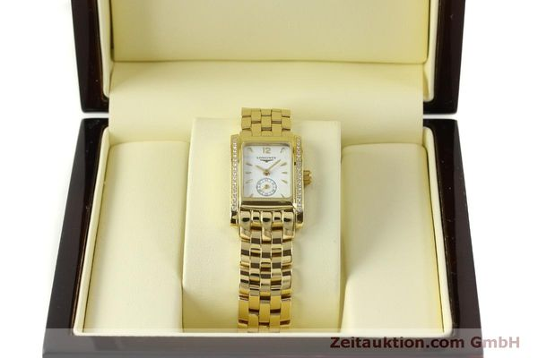 Used luxury watch Longines Dolce Vita 18 ct gold quartz Kal. L.178.2 ETA 980.153 Ref. L5.155.7  | 151548 07