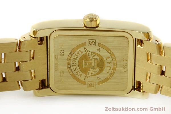 Used luxury watch Longines Dolce Vita 18 ct gold quartz Kal. L.178.2 ETA 980.153 Ref. L5.155.7  | 151548 09