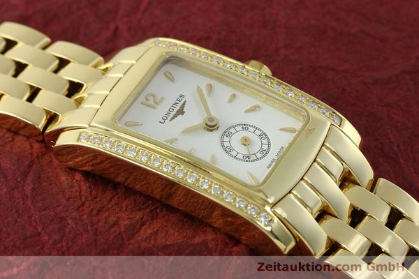 Used luxury watch Longines Dolce Vita 18 ct gold quartz Kal. L.178.2 ETA 980.153 Ref. L5.155.7  | 151548 13