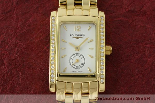 Used luxury watch Longines Dolce Vita 18 ct gold quartz Kal. L.178.2 ETA 980.153 Ref. L5.155.7  | 151548 14